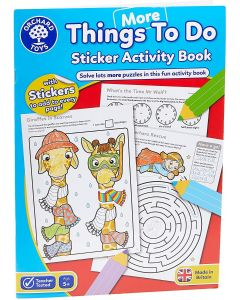 Orchard Toys CB13 Activity Book - Things to Do