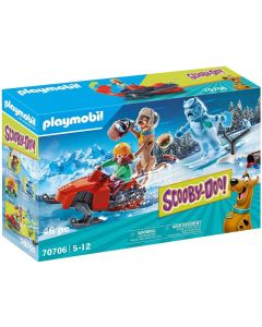 PLAYMOBIL 70706 SCOOBY-DOO! Adventure with Snow Ghost