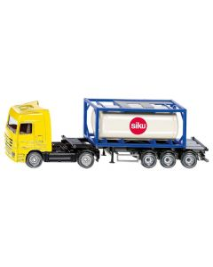 SIKU Truck with Tank Container