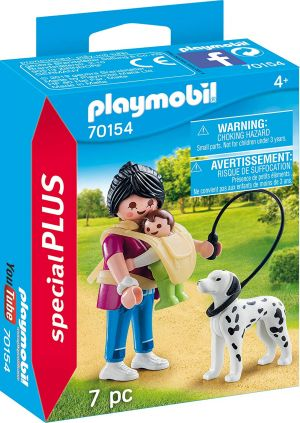 Playmobil Special Plus-Mother with Baby and Dog