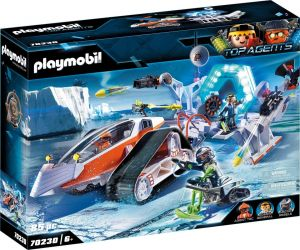 PLAYMOBIL 70230 Top Agents-Spy Team Command Sled